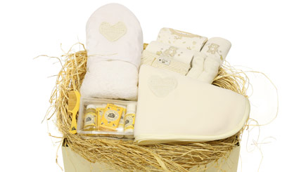 Pamper Me - Newborn Baby Hamper and Free Toy