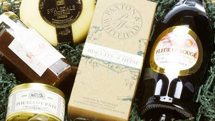 bedale luxury cheese and wine hamper