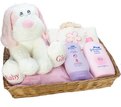 bedtime girl hamper