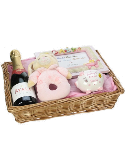 New Born Girl Baby Hamper