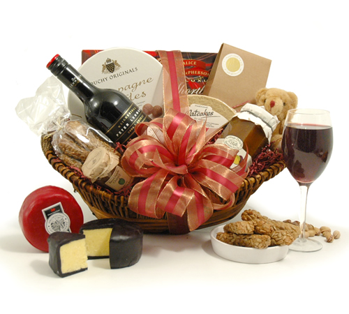 Wine and Cheese Feast Luxury Hamper