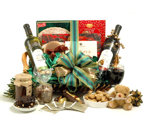 Christmas Wine Hamper