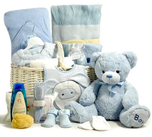 Luxury New Baby Gifts Uk : Luxury baby boy basket luxuryhamper