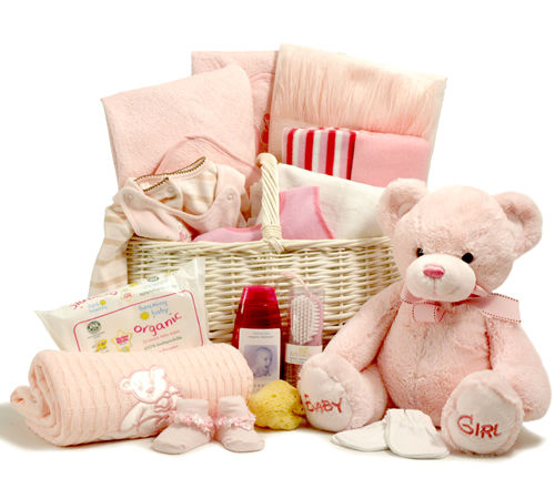 New Trendy Baby Fullmoon Gift Pack : Luxury baby girl basket luxuryhamper