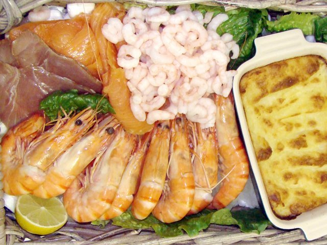 Christmas Fish Hamper